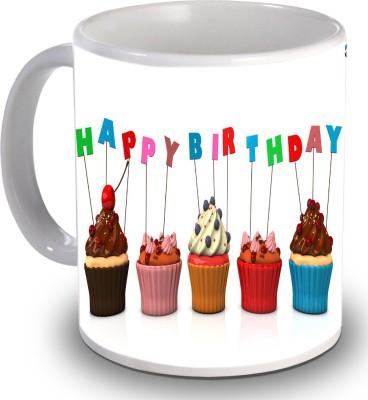 Print Helllo Happy Birthday R224 Ceramic Mug