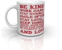 Seven Rays Be Kind Ceramic Mug(250 ml)