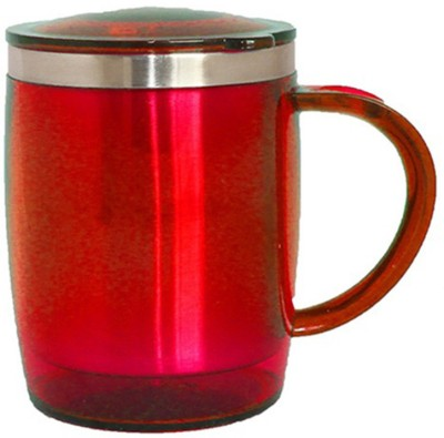 Plastron Barrel  ( Red ) Plastic Mug