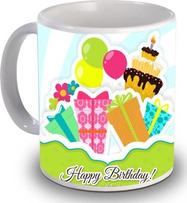 Print Helllo Happy Birthday R164 Ceramic Mug