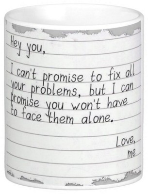 Exoctic Silver Love Romantic Quotes 013 Ceramic Mug