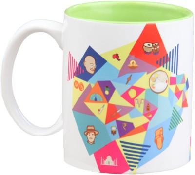 Imagica I for India Graffiti Ceramic Mug