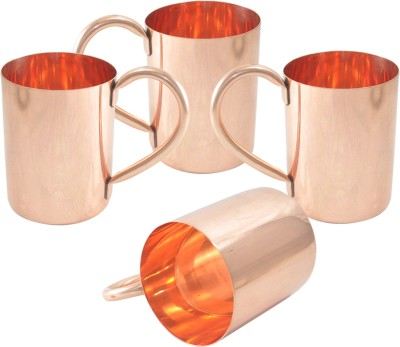 Dakshcraft Handmade Sets Copper Mug