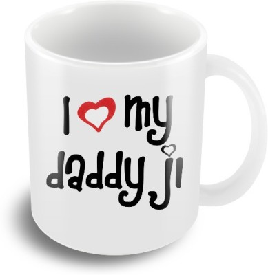 Keep Calm Desi I love Daddy Ji Ceramic Mug