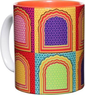 The Elephant Company Jharokha New Ceramic Mug