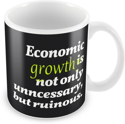 AKUP Economic-Growth Is Not Only Ceramic Mug