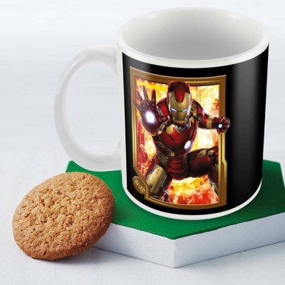 Posterboy Iron Man Frame - Avengers Officially Licensed (Pack Of 1) Ceramic Mug