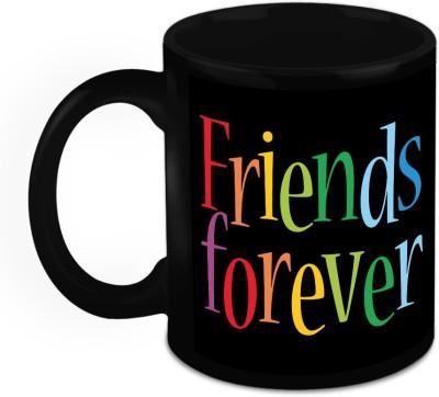 HomeSoGood Gift For Friend - Friends Stay Forever Ceramic Mug