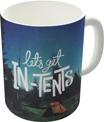 Dreambolic Lets Get In Tents Ceramic Mug