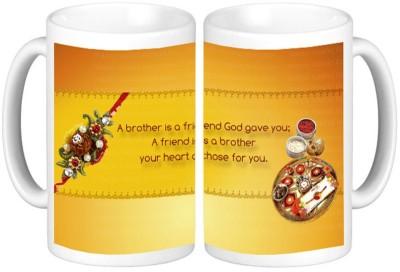 Shopmillions Gift for Raksha Bandhan Ceramic Mug