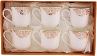 White Gold 2906-124g Porcelain Mug