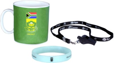 ICC South Africa Cricket Team T20 World Cup Official Cheering Souvenier Kit Ceramic Mug
