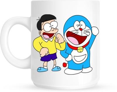 Hainaworld Doraemon & Nobita Coffee  Ceramic Mug