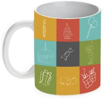 Mugwala Kids Birthday Return Gift designer Ceramic Mug