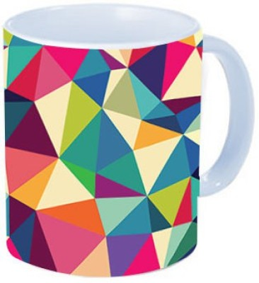 Rawkart Triangular pattern Ceramic Mug