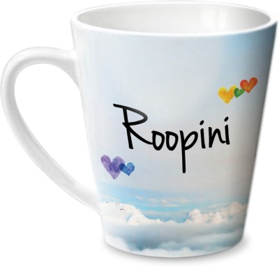 Hot Muggs Simply Love You Roopini Conical  Ceramic Mug