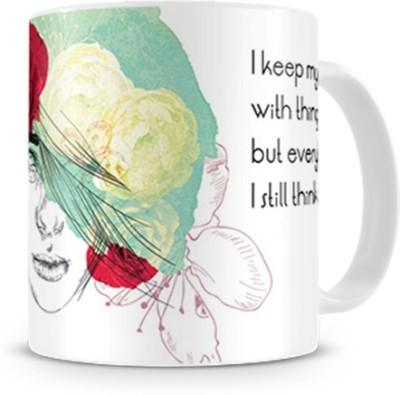 Print Haat Love Quotes Ceramic Mug