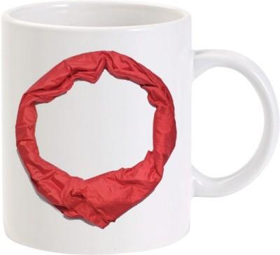 Lolprint O Silk Alphabet Letter Name Ceramic Mug