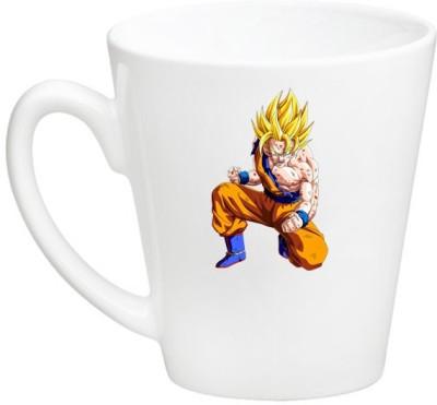 Huppme Goku Dragon Ball Z Conical  Ceramic Mug
