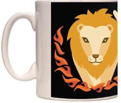 Onlineworld Zodiac Coffee - White – Leo – 09 Ceramic Mug