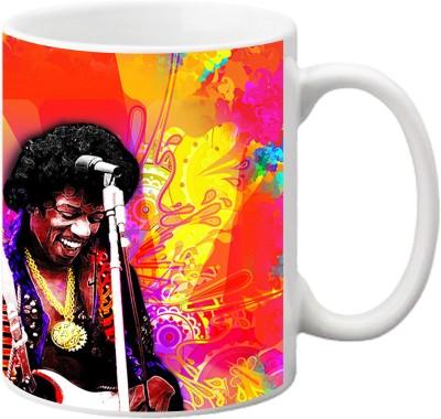 ezyPRNT Musical Pop Art Ceramic Mug