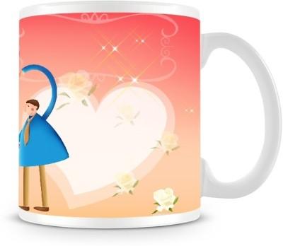 Shoprock Proposing Couples in Sky Coffee Ceramic Mug