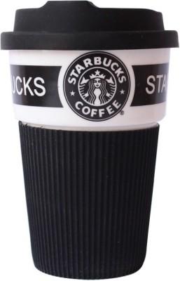Grooto Starbucks Covered  (Black) Ceramic Mug