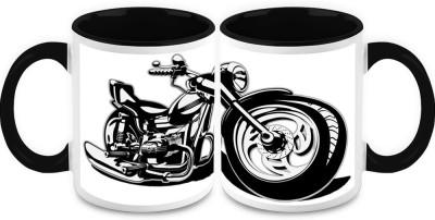HomeSoGood Pump My Ride (2 s) Ceramic Mug