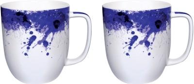 Kudos Splatter Indigo Anh-300 (2 Pc) Ceramic Mug