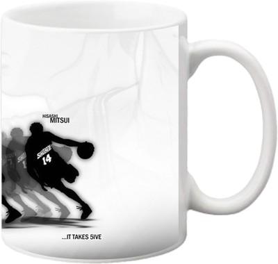 ezyPRNT Basket Ball Team Ceramic Mug