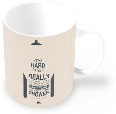 Thinkpot Hard Do a Really Good Job - Paul Graham , Ycombinator Ceramic Mug