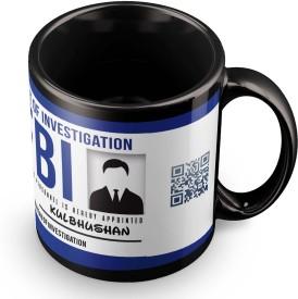 posterchacha Kulbhushan FBI ID Tea And Coffee Ceramic Mug(300 ml)