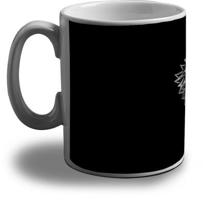 Artifa Wolf Design Porcelain, Ceramic Mug