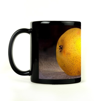 AURRA PRINTED BLACK-851 Ceramic Mug