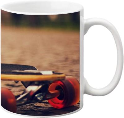 ezyPRNT Skateboard Ceramic Mug