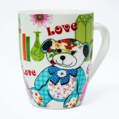 Painting Mantra Teddy Bear Coffee Ceramic Mug