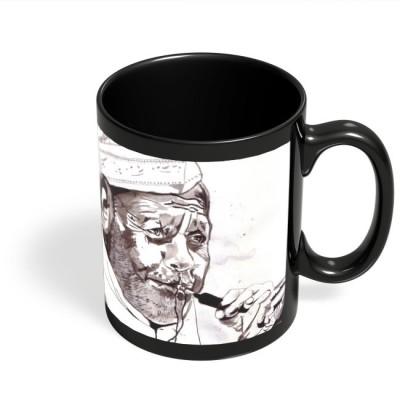 PosterGuy Ustad Bismillah Khan Painting Ceramic Mug