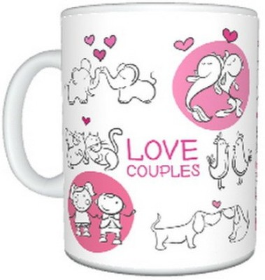 CreativesKart Love Couples  Ceramic Mug