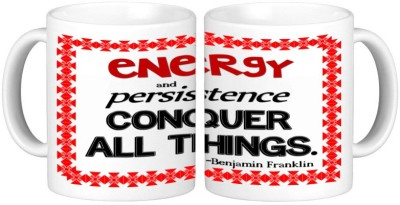 Shopmillions Energy And Persistence Ceramic Mug