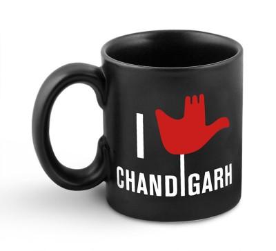 Happily Unmarried Chandigarh Coffee  Ceramic Mug