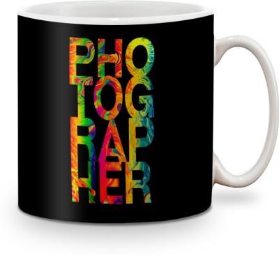 Be Awara Photographer Ceramic Mug(325 ml)