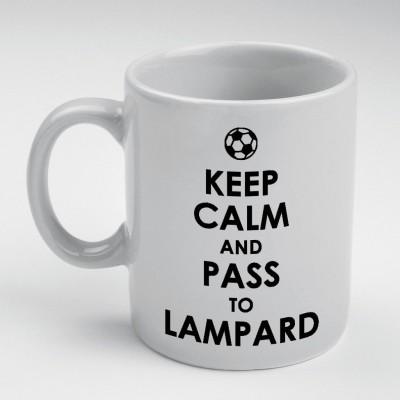 Prokyde Prokyde Keep Calm & Pass to Lampard  Ceramic Mug