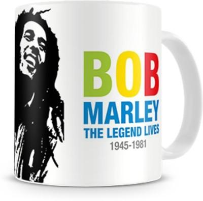 Print Haat Bob Marley Ceramic Mug