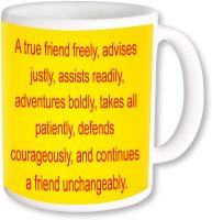 PhotogiftsIndia A True Friend Freely advises Ceramic Mug