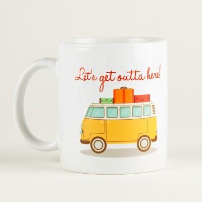 LetterNote Let,s Get Ceramic Mug