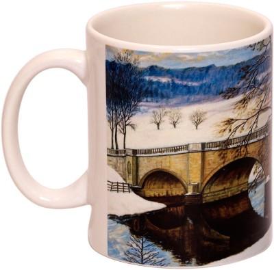 IMFPA Snowy Bridge Ceramic Mug