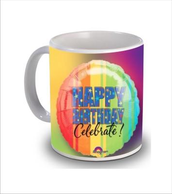 Print Hello Happy Birthday Cake b179 Ceramic Mug