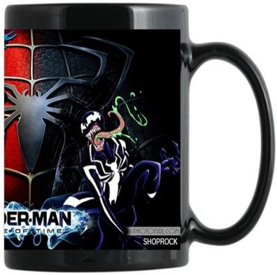 Shoprock Spider Man Ceramic Mug