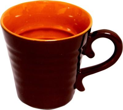 Earthern Blue Contemporary Coffee Ceramic Mug