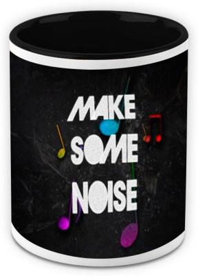 HomeSoGood Make Some Noise Ceramic Mug